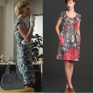 Banana Republic Mad Men Begonia Dress